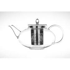 Harmony 1.31-qt. Glass Teapot with Tea Warmer Cozy Lead Free Special Glass No Drip