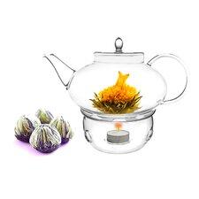 Harmony 1.31-qt. Fab Flowering Teapot