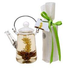 2 Piece 0.5-qt. Blooming Teapot