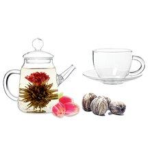 Duo 0.5-qt. Fab Flowering Teapot Set