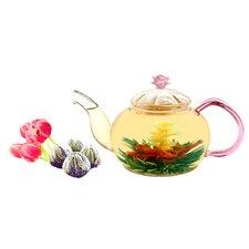 Juliet 0.63-qt. Jasmine Fab Flowering Teapot