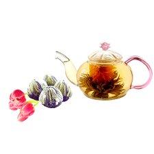 Juliet 0.63-qt. Fab Flowering Teapot
