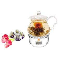 Fairy 0.63-qt. Fab Flowering Teapot