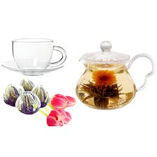 Fairy 0.63-qt. Fab Flowering Teapot Set
