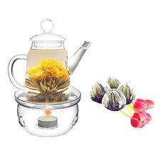 Duo 0.5-qt. Fab Flowering Teapot