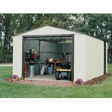 Murryhill 12 Ft. W x 17 Ft. D Vinyl Coated Steel Storage Shed