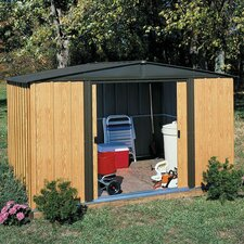 Woodlake 8 Ft. W x 6 Ft. D Steel Storage Shed