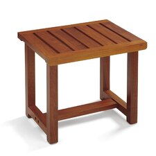 Wooden Spa Bench