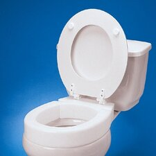 Standard Hinged Raised Toilet Seat Extension