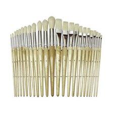 Wood Brushes (Set of 24)