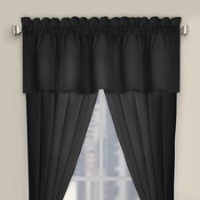 Microfiber Tailored Curtain Valance