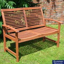 Tornio 2 Seater Wooden Bench