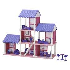 25 Piece Delightful Dollhouse Set