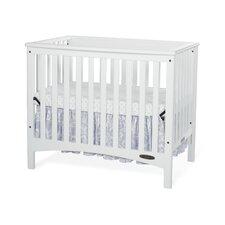 London Euro Mini Convertible Crib with Mattress