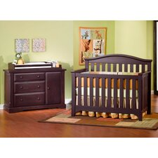 Hawthorne Nursery 3 Piece Convertible Crib Set