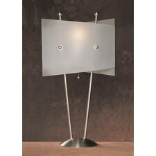 "Metal 25.5"" H Table Lamp with Novelty Shade"