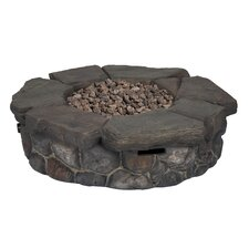 Granite Falls Stainless Steel Propane Fire Pit