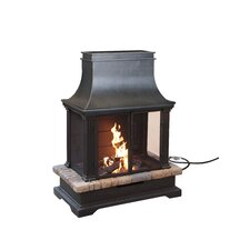 Sevilla Metal Gas Fireplace