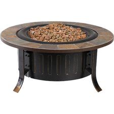 Bolen Bistro Steel Propane Fire Pit Table
