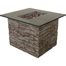 Monterey Gas Outdoor Fire Pit Table