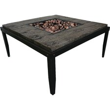 Courtland Steel Outdoor Fire Pit Table