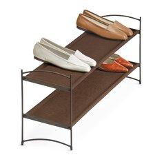 Lynk Vela Stackable Shoe Shelves 2 Tier - Shoe Rack Shelf
