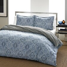 Milan Reversible Duvet Cover Set