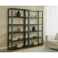 "Double Open 76"" Etagere"