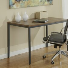 Parson Writing Desk with Steel Frame