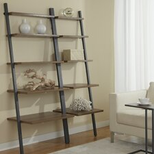 """Parson 71"""" Leaning Bookcase"""