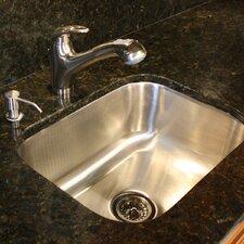 """23"""" x 17.75"""" 18 Gauge Rectangle Undermount Kitchen Sink"""