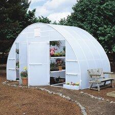 Conservatory 16 Ft. W x 8 Ft. D Polyethylene Greenhouse