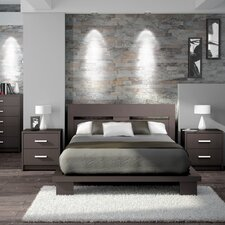 Cosmopolis Queen Platform Customizable Bedroom Set