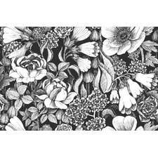 """Volume 4 Oodi 33' x 21"""" Floral and Botaincal Wallpaper"""