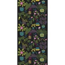 "Volume 4 Ikkunaprinssi 9.84' x 55.12"" Floral and Botanical Wallpaper"