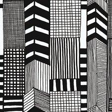 "Marimekko II Ruutukaava 33' x 27"" Geometric Wallpaper"