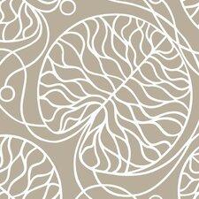 "Marimekko II Bottna 33' x 27"" Abstract Wallpaper"
