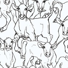 """Marimekko II 33' x 27.6"""" Iltavilli Wallpaper"""