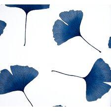 Biloba 33' x 27'' Floral And Botanical Embossed Wallpaper