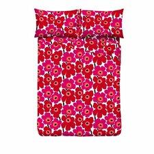 Unikko Pieni 300 Thread Count 100% Cotton Sheet Set