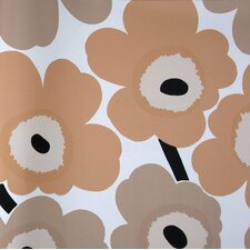 "Unikko 33' x 27"" Floral 3D Embossed Wallpaper"
