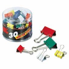 Binder Clips, 30/Pack (Set of 2)