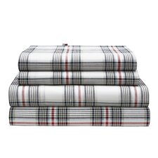 Evening Plaid Sheet Set