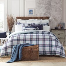 Surf Plaid 2 Piece Comforter Set