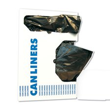 45-Gallon Medium-Grade Can Liner in Black