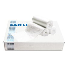 40-45 Gallons Waste Can Liner in White