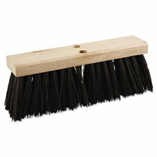 "16"" Polypropylene Street Broom Head"