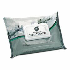 Table Turner Wet Wipes in White