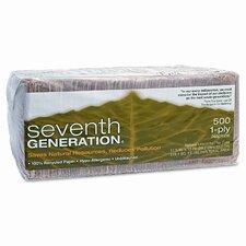 (500 per Carton) 100% Recycled Natural Napkins