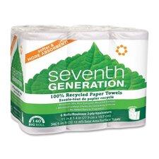 2-Ply Paper Towel - 140 Sheets per Roll / 6 Rolls